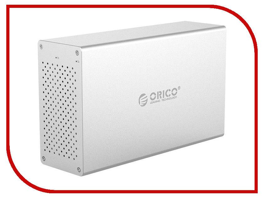 Контейнер для HDD Orico WS200RU3 Silver контейнер для hdd orico ns200u3 black