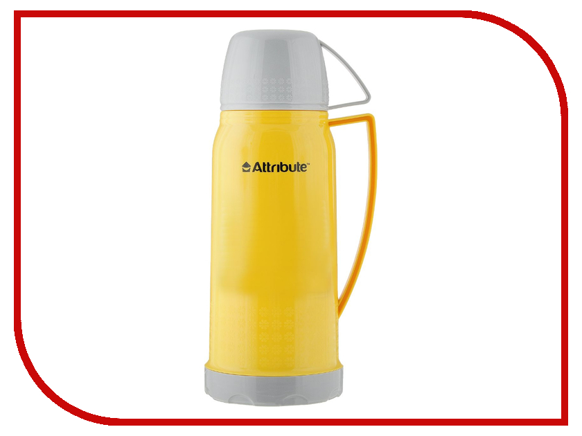 Термос Attribute Friendy 600ml Yellow AVF403