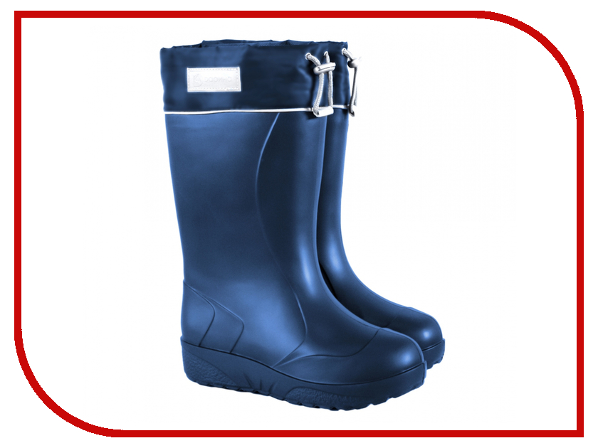Сапоги Дарина Барбара с утеплителем Ice Land р.37-38 Blue Д543-НУ