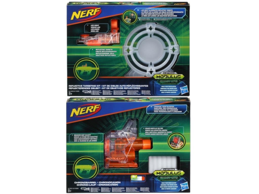 Игрушка Hasbro Набор аксессуаров NERF Модулус Сумерки E1555EU4