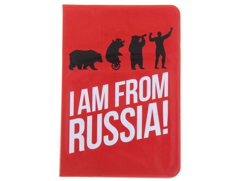 Аксессуар Обложка СИМА-ЛЕНД I Am From Russia 1116085 i am туфли