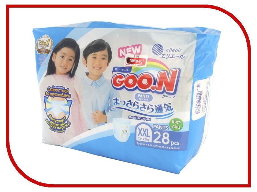Подгузники Goo.N трусики XXL (13-25 кг) 28 шт. 4902011857733 цена