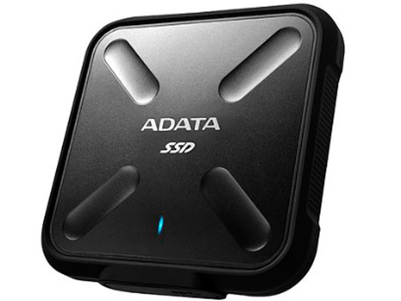 Жесткий диск ADATA SD700 512GB Black цена и фото