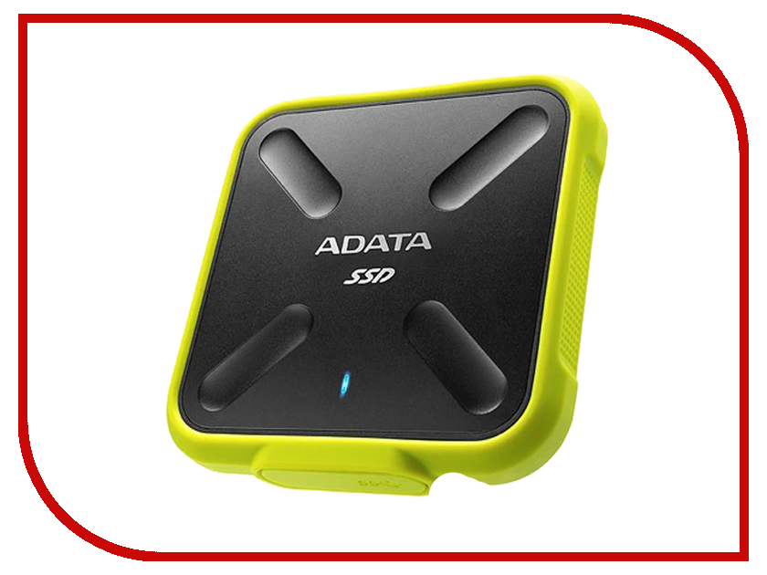 Жесткий диск ADATA SD700 256GB Yellow внешний ssd накопитель 1 8 256gb a data sd700 asd700 256gu3 cyl ssd usb 3 1 type c желтый