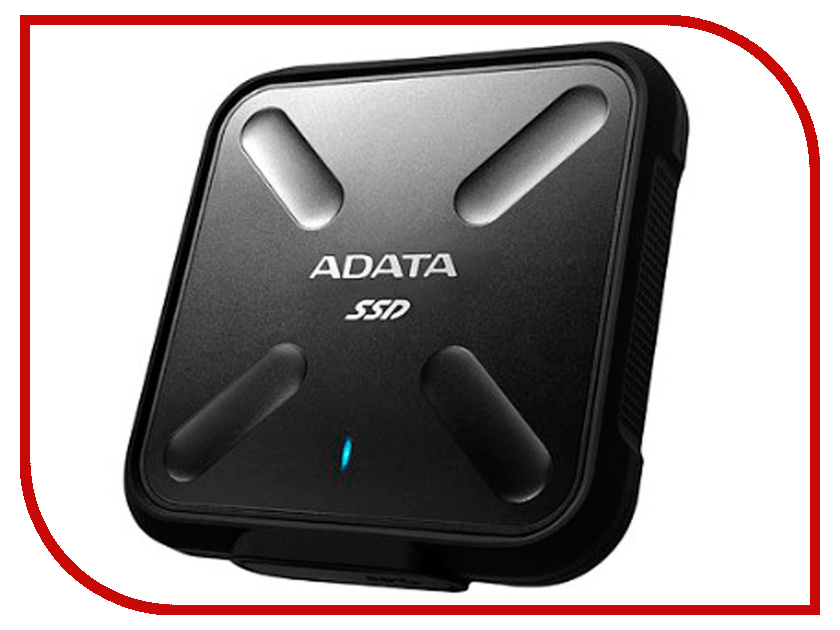 Жесткий диск ADATA SD700 256GB Black внешний ssd накопитель 1 8 256gb a data sd700 asd700 256gu3 cyl ssd usb 3 1 type c желтый