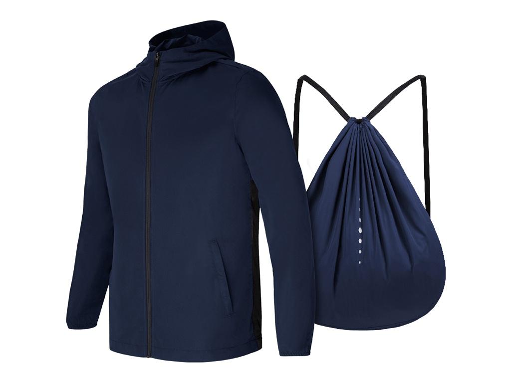 все цены на Ветровка-рюкзак Xiaomi Mijia 7th 2 in 1 XL Blue онлайн