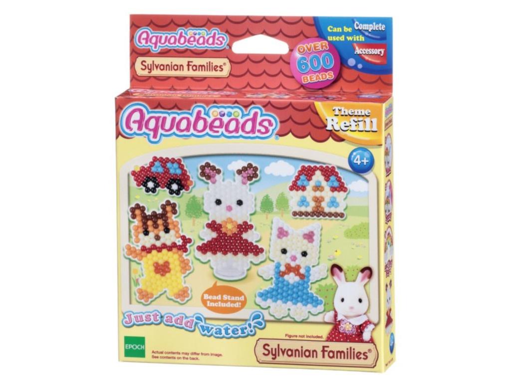 Набор для творчества Aquabeads Персонажи Sylvanian Families 31068 аква мозаика холодное сердце персонажи aquabeads