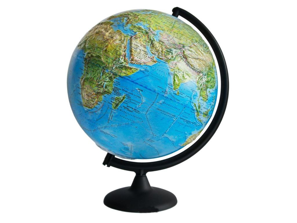 Глобус Глобусный Мир Ландшафтный 320mm рельефный 10242 глобусный мир глобус ландшафтный диаметр 32 см