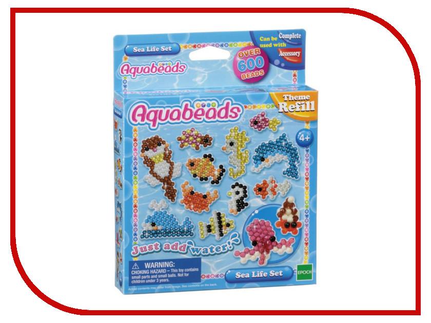 Набор Aquabeads Морские животные 79138 набор для творчества aquabeads аквамозаика забавные животные