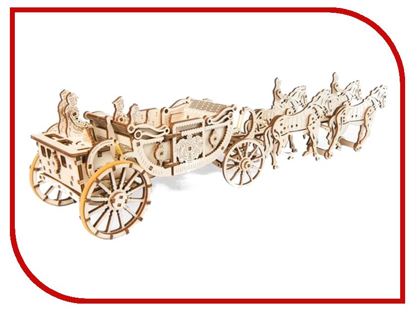 Сборная модель UGears Королевская карета 70050 ugears ugears комбайн page 5