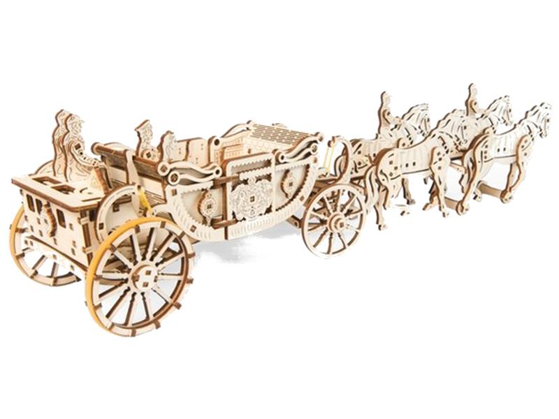 Сборная модель UGears Королевская карета 70050
