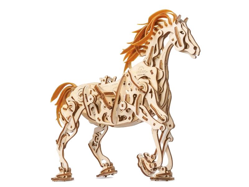 Сборная модель UGears Конь-Механоид 70054