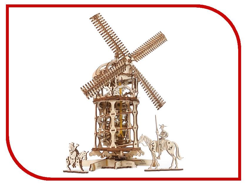 Сборная модель UGears Мельница-Башня 70055 набор ugears карусель