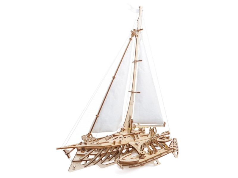 Сборная модель UGears Тримаран Мерихобус 70059