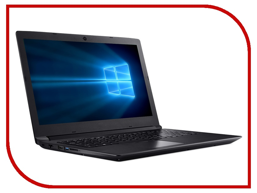 Ноутбук Acer Aspire A315-53-37C3 Black NX.H2AER.001 (Intel Core i3-7020U 2.3 GHz/4096Mb/1000Gb+16Gb SSD/Intel HD Graphics/Wi-Fi/Bluetooth/Cam/15.6/1920x1080/Windows 10 Home 64-bit) цена