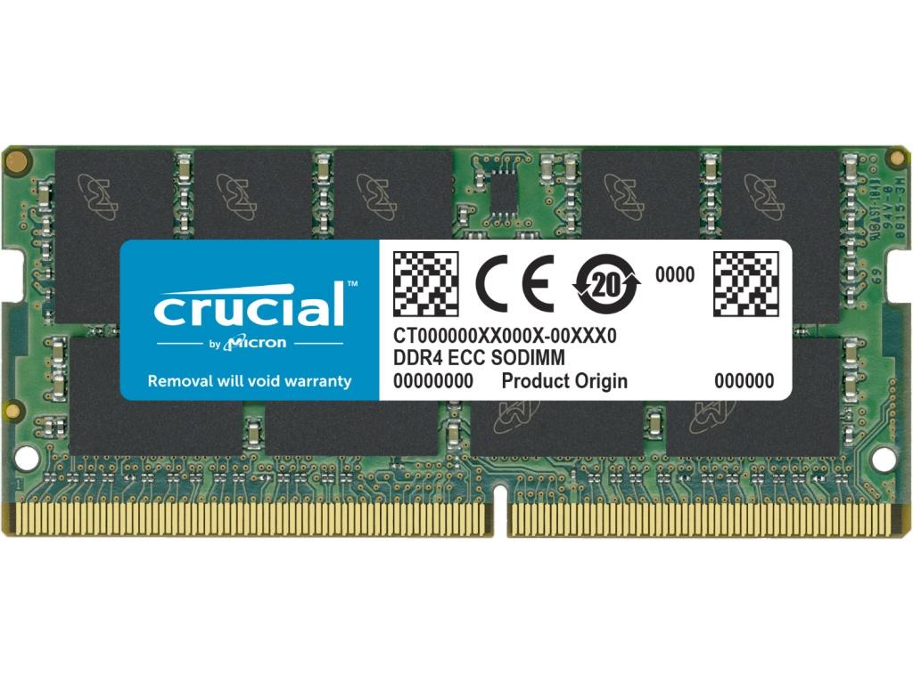 Модуль памяти Crucial DDR4 SO-DIMM 2666MHz PC-21300 CL19 - 16Gb CT16G4TFD8266