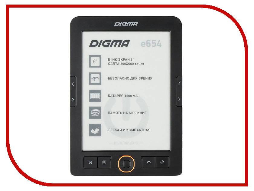 Электронная книга Digma E654 Grafit электронная книга braun e5 80g