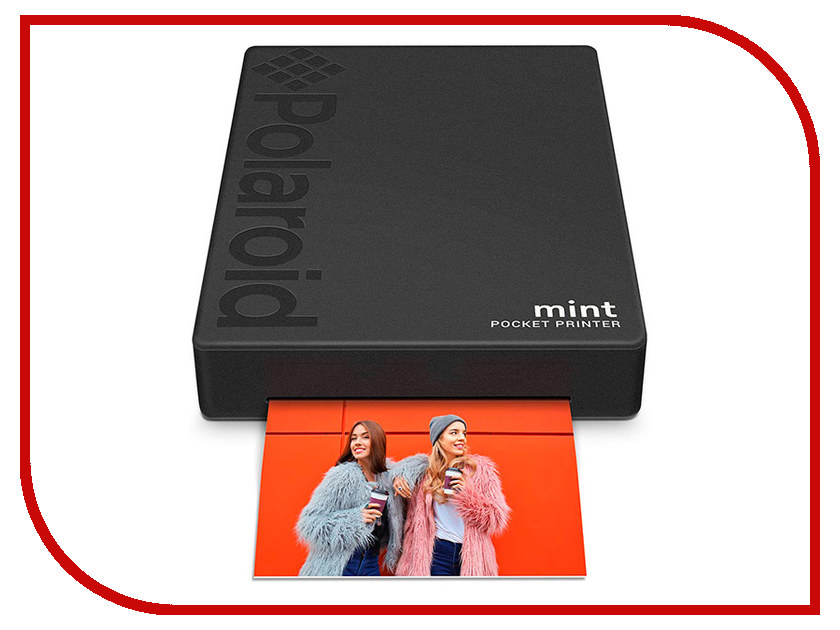 Принтер Polaroid Mint Black POLMP02B