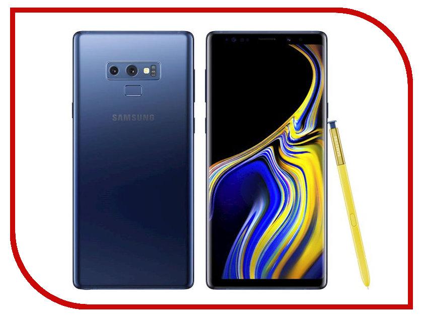 Сотовый телефон Samsung Galaxy Note 9 512GB Blue blue note
