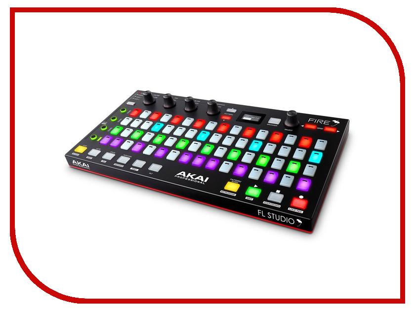Dj контроллер AKAI Pro Fire midi контроллер akai pro mpd218
