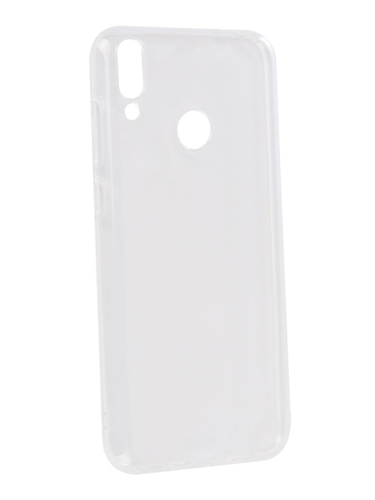 Аксессуар Чехол DF для ASUS ZenFone Max (M2) ZB633KL Silicone Super Slim aCase-51 аксессуар чехол asus zenfone 2 laser ze550kl df acase 05