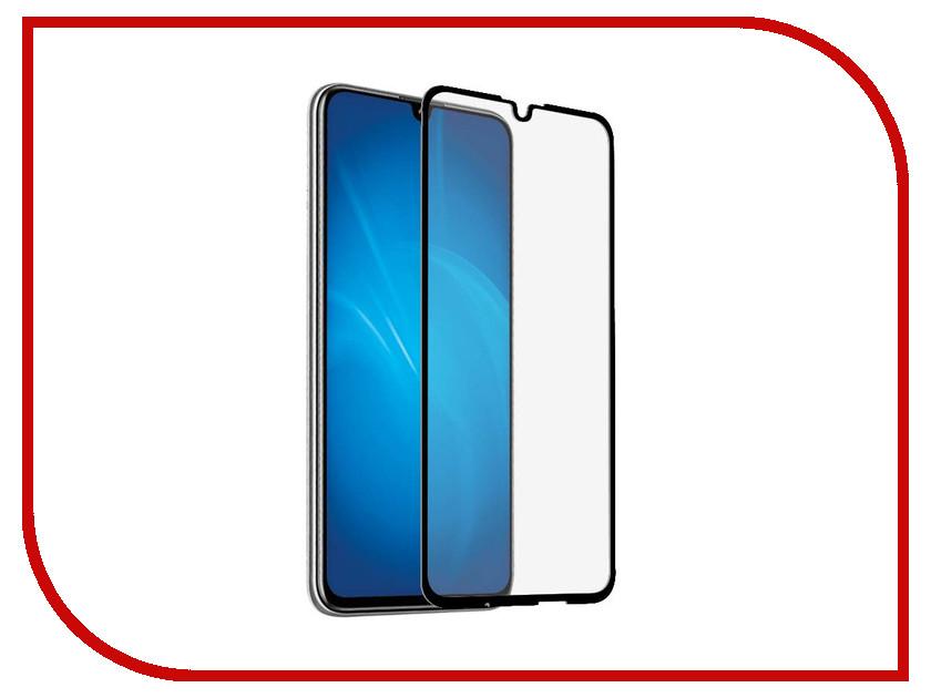 Купить Аксессуар Закаленное стекло для Honor 10 Lite DF Full Screen Full Glue Black hwColor-83, DF-GROUP