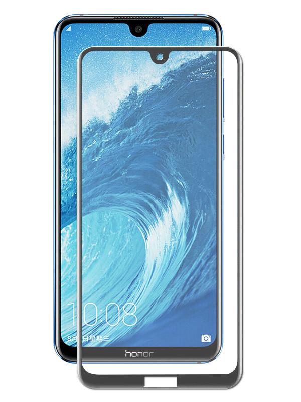 Аксессуар Закаленное стекло DF для Honor 8X Max Full Screen Black hwColor-84 цена