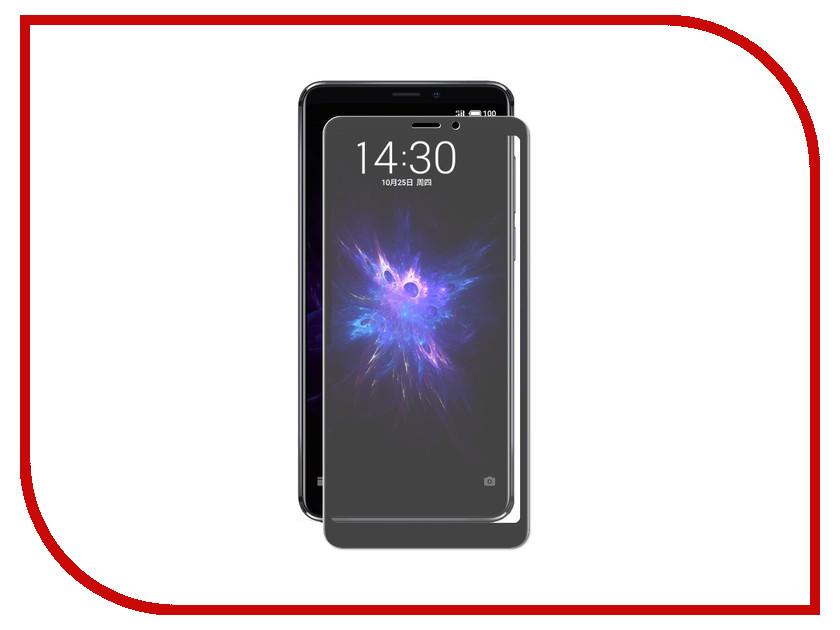 Аксессуар Закаленное стекло для Meizu Note 8/M 8 Note DF Full Screen Black mzColor-30 от DF-GROUP