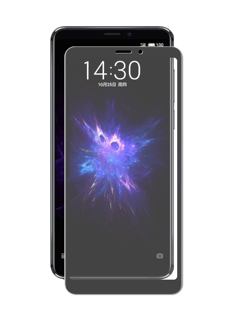 Аксессуар Закаленное стекло DF для Meizu Note 8/M 8 Note Full Screen Black mzColor-30 аксессуар закаленное стекло для meizu m6t df full screen mzcolor 23 black