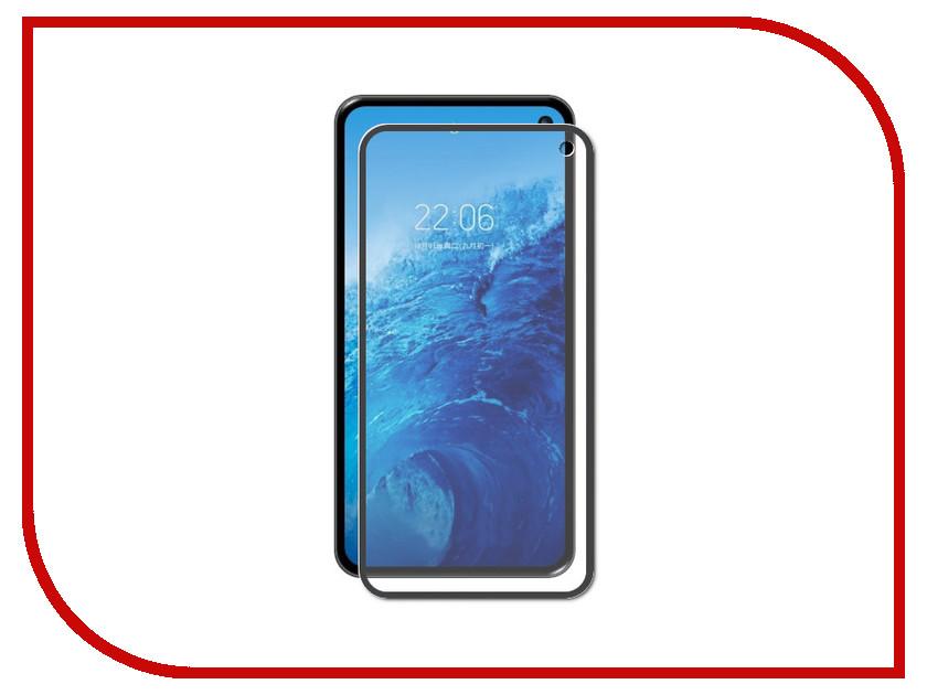 Аксессуар Закаленное стекло для Samsung Galaxy S10 Lite DF 3D Full Screen Black sColor-64 аксессуар закаленное стекло samsung galaxy a7 2016 df scolor 04 white