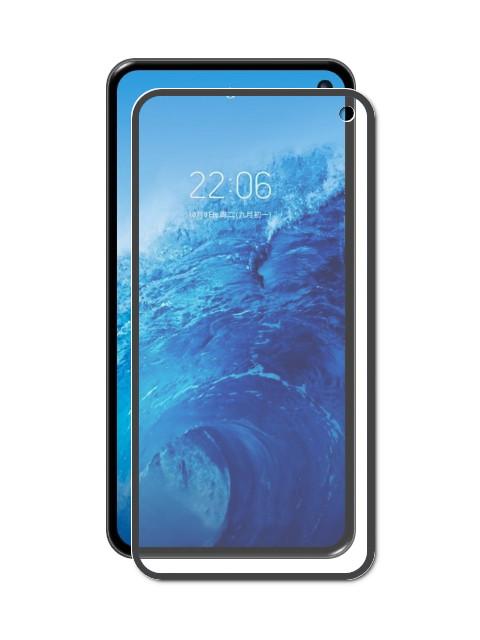 Аксессуар Закаленное стекло DF для Samsung Galaxy S10 Lite 3D Full Screen Black sColor-64 цена и фото