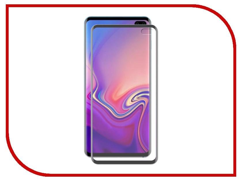 Аксессуар Закаленное стекло для Samsung Galaxy S10 Plus DF 3D Full Screen Black sColor-63 аксессуар закаленное стекло samsung galaxy a7 2016 df scolor 04 white