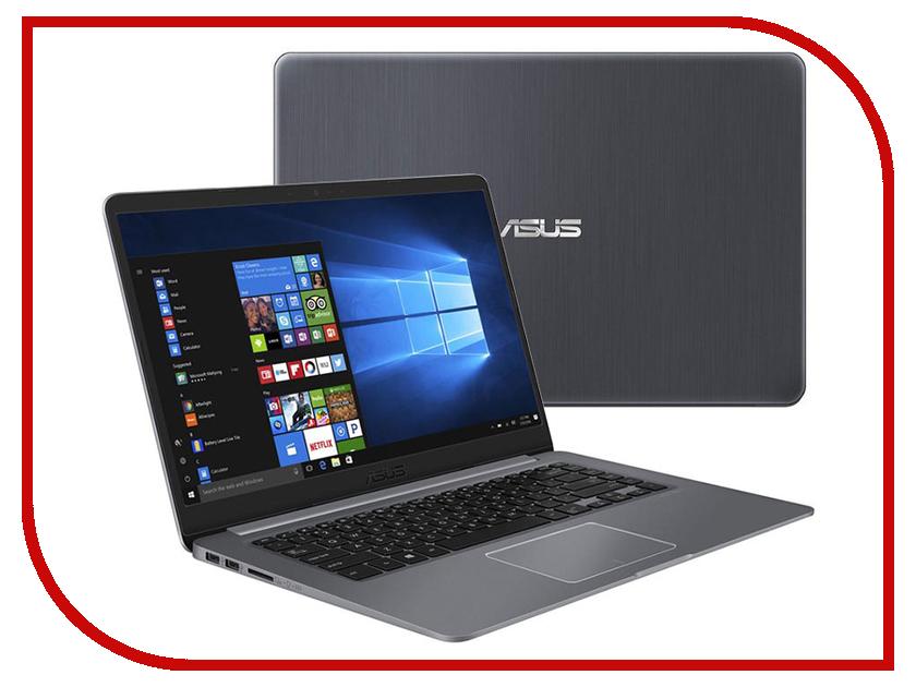 Ноутбук ASUS VivoBook S510UF-BQ674T Grey 90NB0IK5-M10800 (Intel Core i3-8130U 2.2 GHz/8192Mb/1000Gb+16Gb SSD/nVidia GeForce MX130 2048Mb/Wi-Fi/Bluetooth/Cam/15.6/1920x1080/Windows 10 Home 64-bit) ноутбук asus vivobook x542ur dm055t 90nb0fe2 m00570 intel core i5 7200u 2 5 ghz 4096mb 1000gb dvd rw nvidia geforce 930mx 2048mb 15 6 wi fi bluetooth cam 1920x1080 windows 10 64 bit