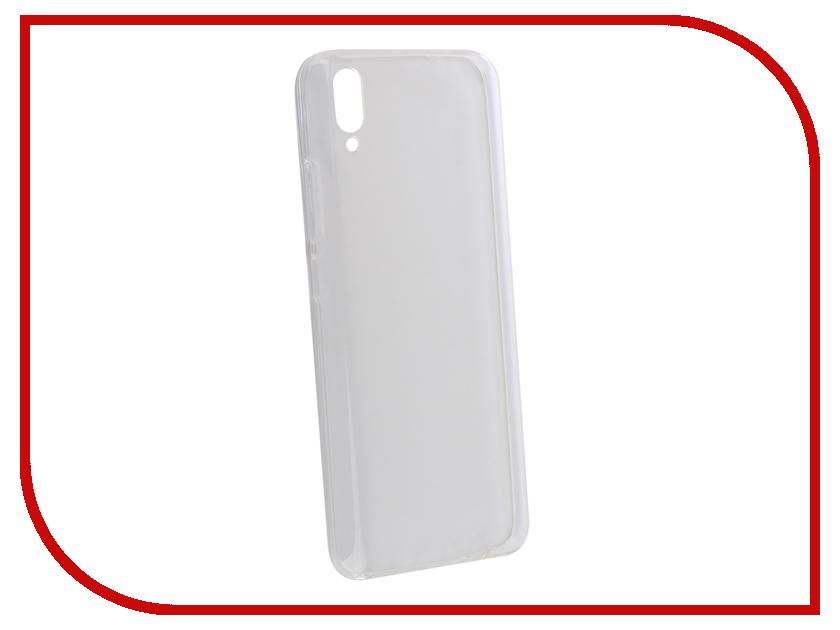 Аксессуар Чехол для Vivo V11 Zibelino Ultra Thin Case Transparent ZUTC-VIV-V11-WHT gumai protective case ultra thin silky smooth phone cover back shell for oppo r9s rose gold