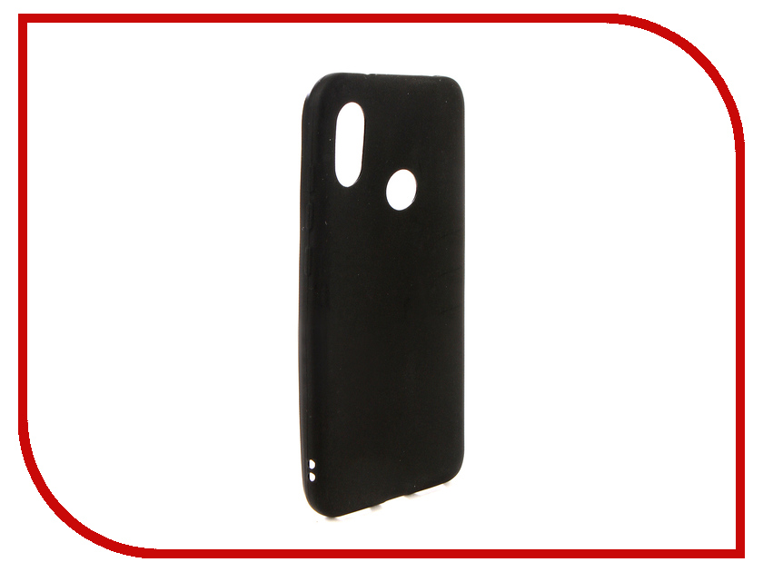 Аксессуар Чехол для Xiaomi Redmi 6 Pro Ubik TPU Black