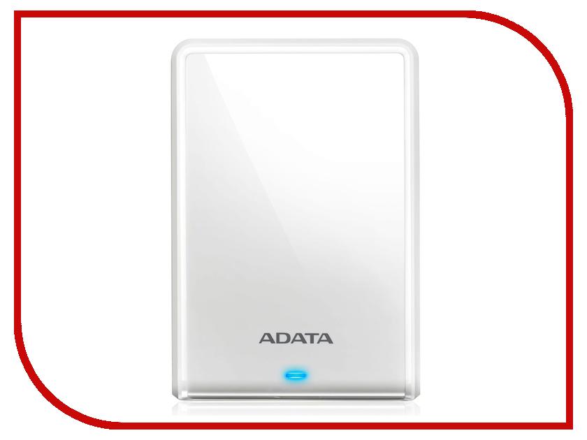 цена на Жесткий диск A-Data HV620S Slim USB 3.1 White AHV620S-1TU31-CWH