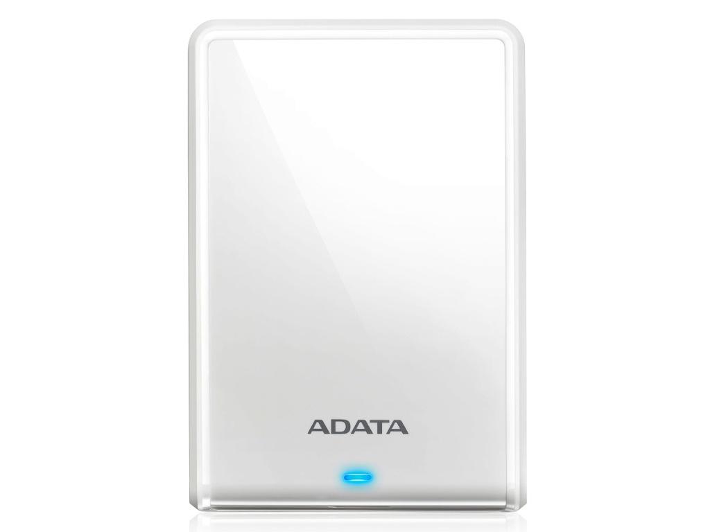 цена на Жесткий диск A-Data HV620S Slim USB 3.1 1Tb White AHV620S-1TU31-CWH