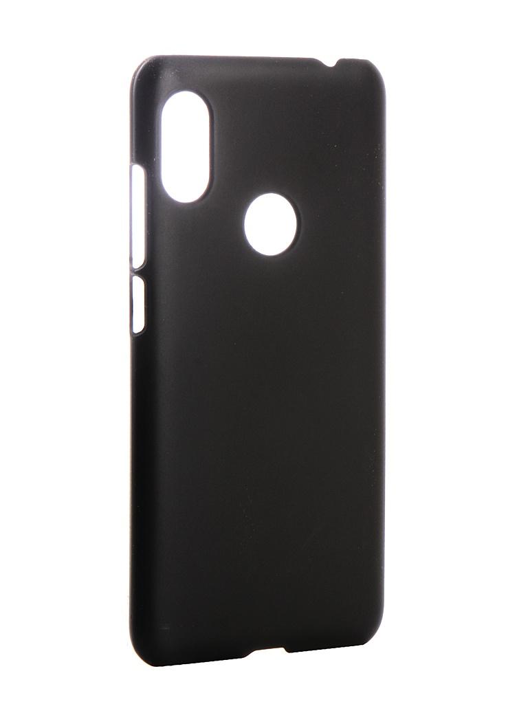 Аксессуар Чехол Zibelino для Xiaomi Redmi Note 6 Pro Hard Plast Black ZHP-XIA-NOT6-PRO-BLK аксессуар чехол xiaomi redmi note 5a snoogy иск кожа black sn xia n5a blk lth