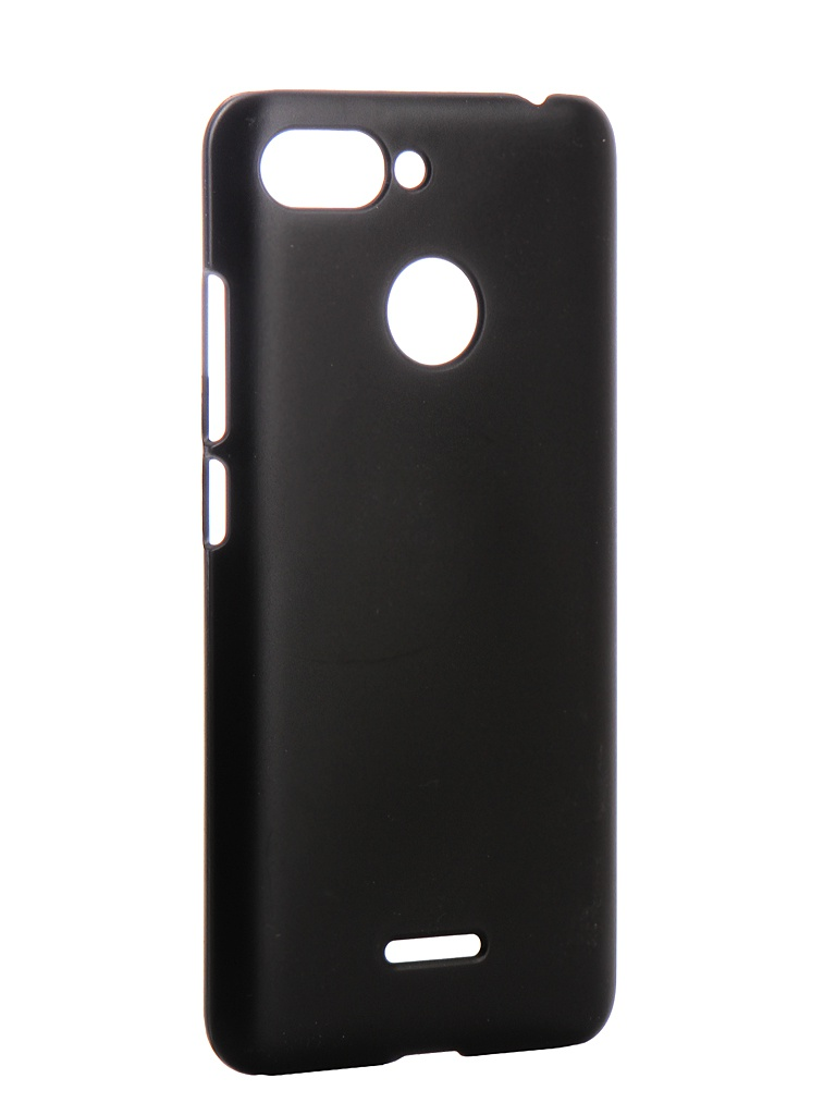 Аксессуар Чехол Zibelino для Xiaomi Redmi 6 Hard Plast Black ZHP-XIA-6-BLK аксессуар чехол zibelino для vivo y83 y81 hard plast black zhp viv y83 blk