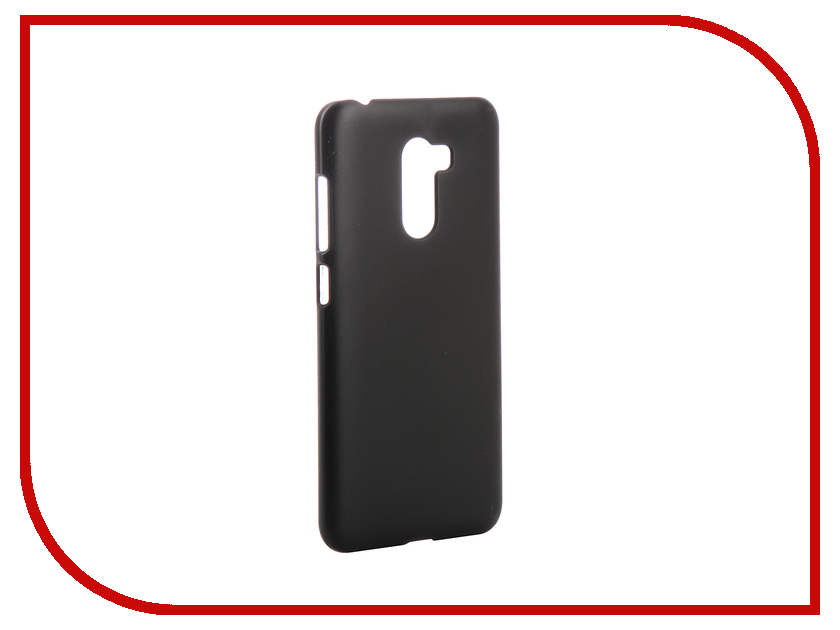 Аксессуар Чехол Zibelino для Xiaomi Pocophone F1 Hard Plast Black ZHP-XIA-F1-BLK  - купить со скидкой
