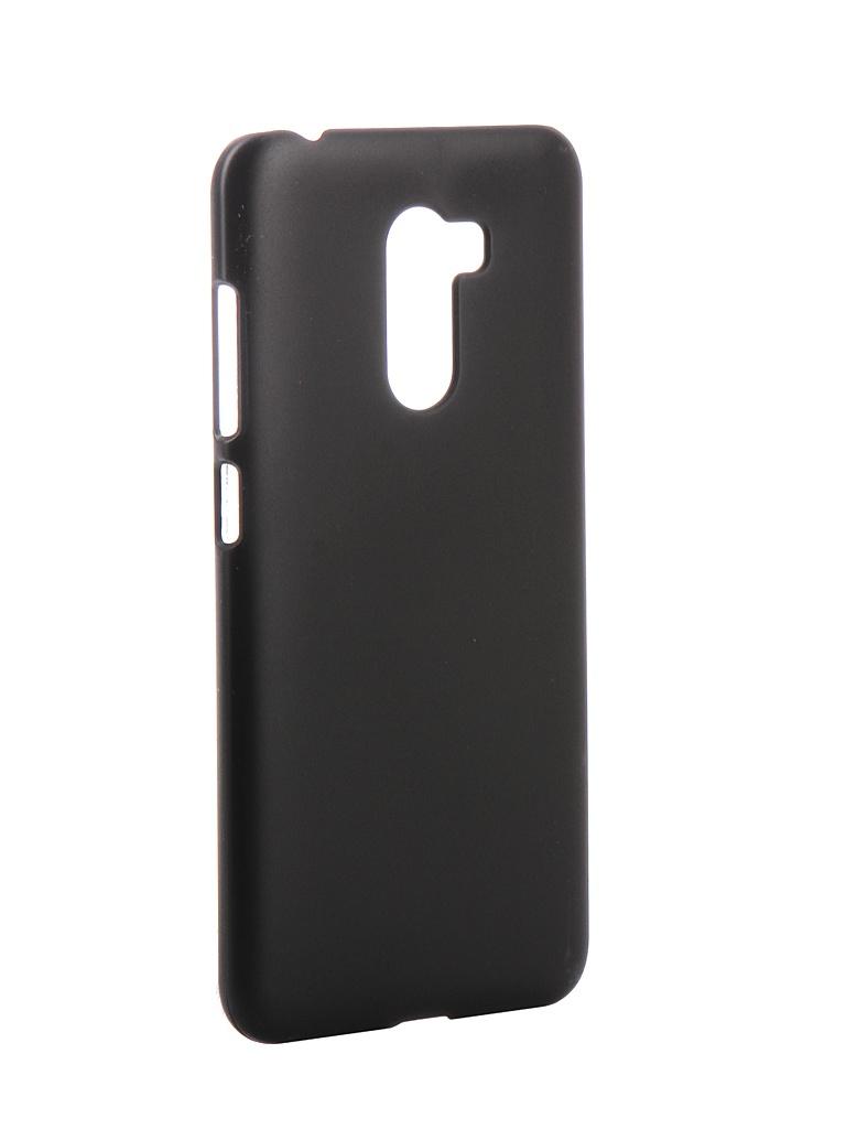 Аксессуар Чехол Zibelino для Xiaomi Pocophone F1 Hard Plast Black ZHP-XIA-F1-BLK аксессуар чехол zibelino для samsung galaxy a7 a750f 2018 hard plast black zhp sam a750 blk