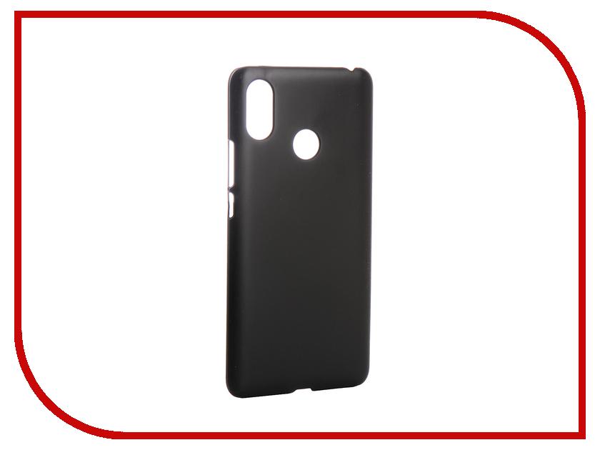 Аксессуар Чехол для Xiaomi Mi Max 3 6.9-inch 2018 Zibelino Hard Plast Black ZHP-XIA-MAX3-BLK аксессуар чехол для xiaomi mi max 2 pero soft touch black prstc mmax21b