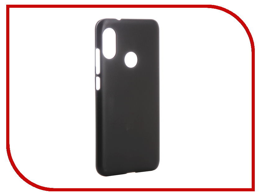 Аксессуар Чехол для Xiaomi Mi A2 Lite 5.84-inch Zibelino Hard Plast Black ZHP-XIA-MIA2LT-BLK