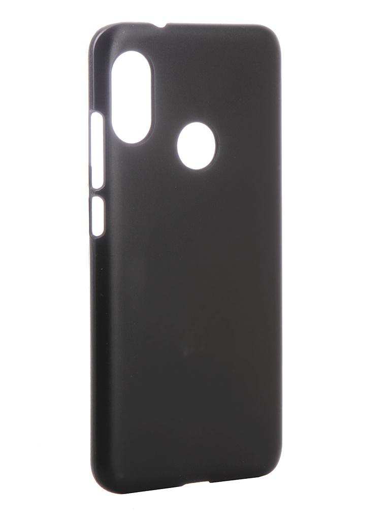 Аксессуар Чехол Zibelino для Xiaomi Mi A2 Lite 5.84-inch Hard Plast Black ZHP-XIA-MIA2LT-BLK аксессуар чехол zibelino для vivo y83 y81 hard plast black zhp viv y83 blk