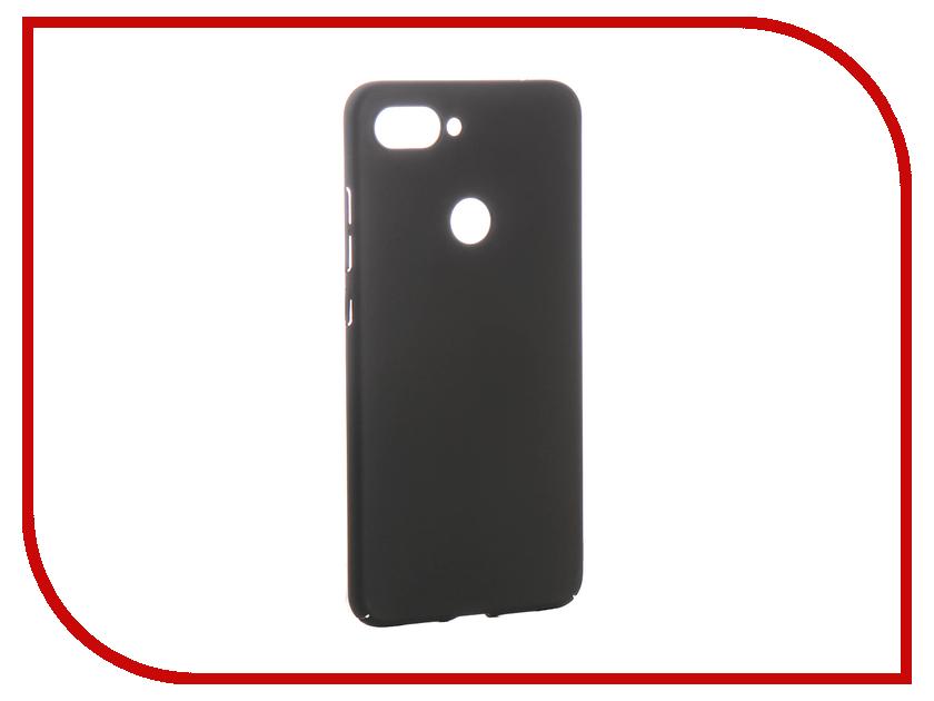 Аксессуар Чехол для Xiaomi Mi8 Lite Zibelino PC Black ZPC-XIA-MI8-LIT-BLK аксессуар чехол для huawei y5 prime 2018 zibelino pc black zpc huw y5pr 2018 blk