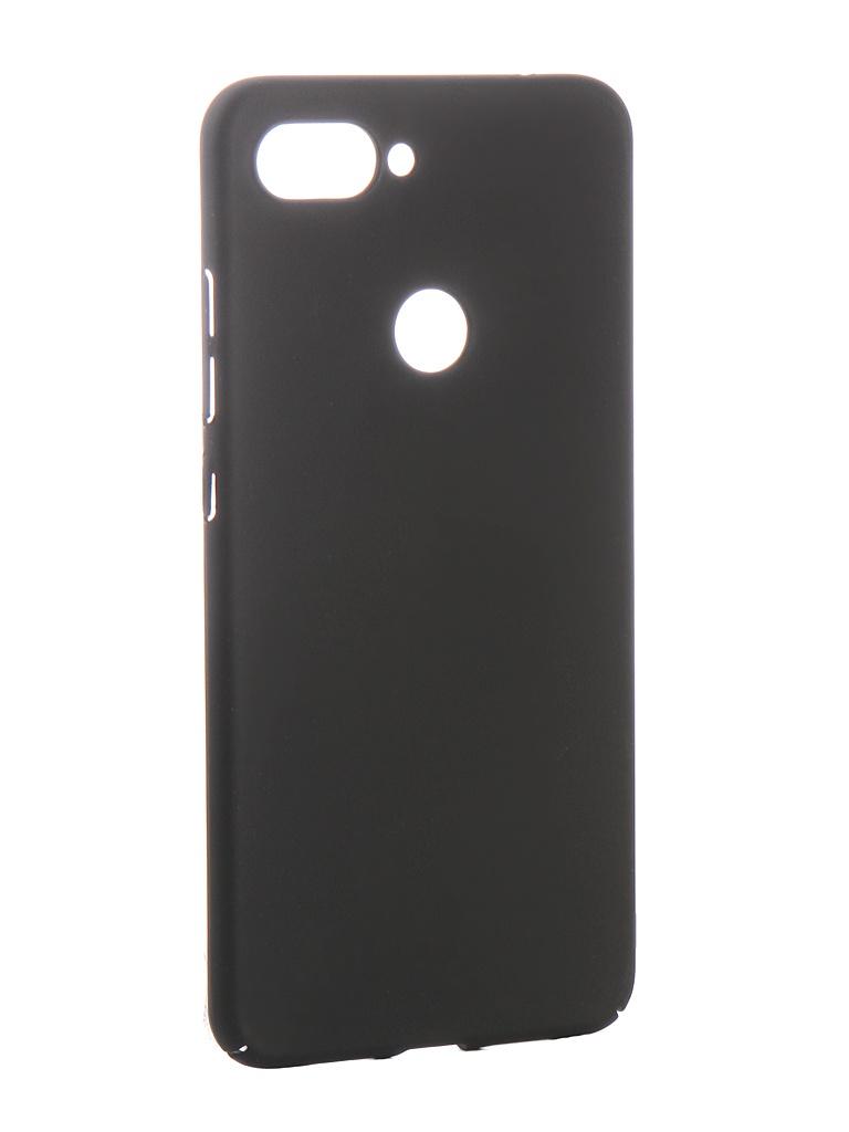Аксессуар Чехол Zibelino для Xiaomi Mi8 Lite PC Black ZPC-XIA-MI8-LIT-BLK аксессуар чехол zibelino для xiaomi mipad 4 plus 2018 tablet black zt xia pad4 pls blk