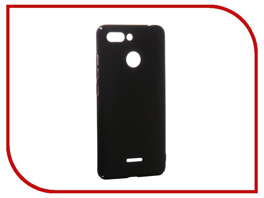 Аксессуар Чехол для Xiaomi Redmi 6 Zibelino PC Black ZPC-XIA-6-BLK аксессуар чехол для huawei y5 prime 2018 zibelino pc black zpc huw y5pr 2018 blk