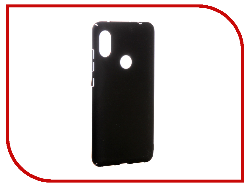 Аксессуар Чехол для Xiaomi Redmi Note 6 Pro Zibelino PC Black ZPC-XIA-RN6-PR-BLK аксессуар чехол для xiaomi redmi 5 plus zibelino cover back elegant black zcbe xia rdm 5 pls blk