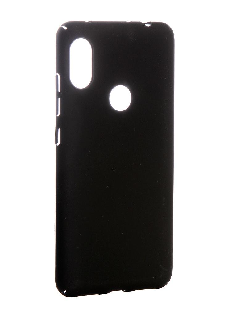 Аксессуар Чехол Zibelino для Xiaomi Redmi Note 6 Pro PC Black ZPC-XIA-RN6-PR-BLK аксессуар чехол xiaomi redmi note 5a snoogy иск кожа black sn xia n5a blk lth