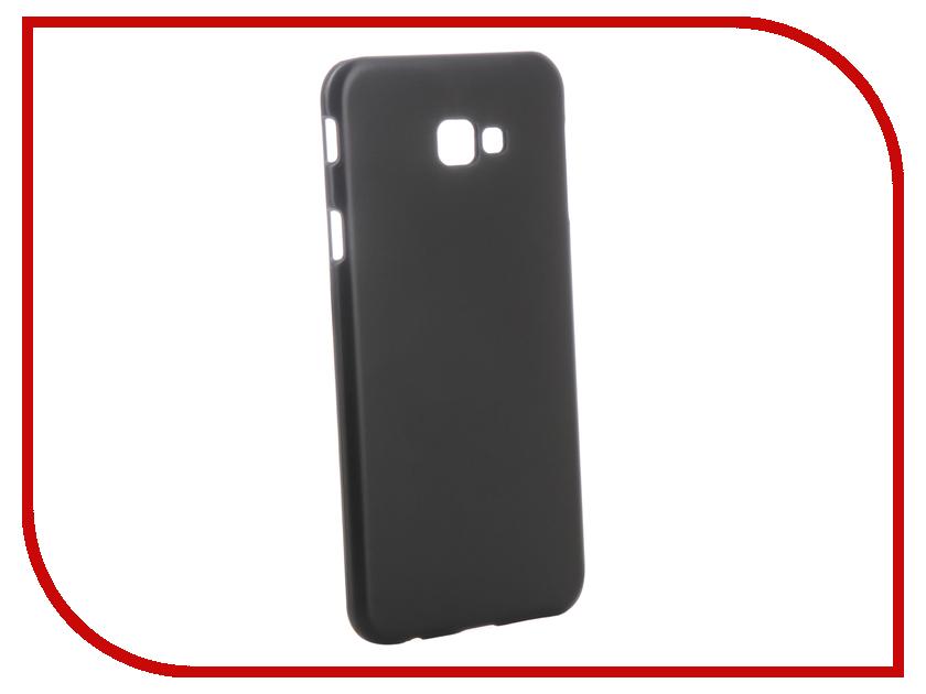 Аксессуар Чехол для Samsung Galaxy J4 Plus J415F 2018 Zibelino Hard Plast Black ZHP-SAM-J415F-BLK аксессуар чехол для samsung a8 plus 2018 a730 zibelino clear view black zcv sam a730 blk